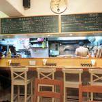 イタリア食堂 キャリー - カウンター席。