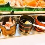 大興寿司 - 醤油は刷毛で塗る