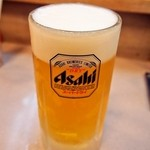 大興寿司 - 生ビール