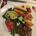 バッカーナ - ブッフェのお野菜色々