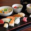 お寿司屋 原田 - 料理写真:にぎり寿司御膳 1200円(税別)
