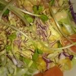 そば処 大むら - サラダのアップ写真。