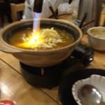 3回楽しめる京だし豚しゃぶしゃぶ はなぜん - 料理写真: