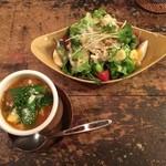 CAFE M - ランチスープとサラダ