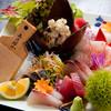 とよ常 - 料理写真:別府の海の幸を盛り合わせにて