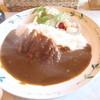 旅路軽食喫茶 - 料理写真:自家製カツカレー 750円