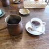 エイコン・カフェ - ドリンク写真:ひしゃくの様な器で提供されます^^