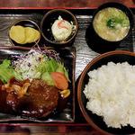 洋食の店 キッチンK - 料理写真:ハンバーグ定食(2016年4月)