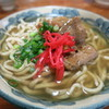御殿山 - 料理写真:琉球古来すば 軟骨ソーキ胚芽すば