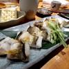 魚真 - 料理写真:あなごの白焼き