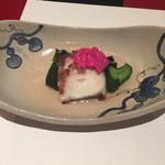 京料理 春神 - 蛸の酢の物