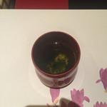 京料理 春神 - わかめのすり流し