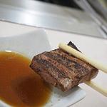 焼肉 ほれぼれ - 新鮮プリプリレバー焼