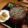 雲太 - 料理写真:おそばツヤツヤ。冷たいお蕎麦(割子そば)の定食950円