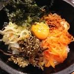 韓国家庭料理 チェゴヤ - 石焼ビビンバ