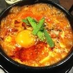 韓国家庭料理 チェゴヤ - スンドゥブチゲ