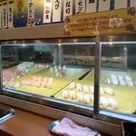 すたみな太郎 - 2016年3月 夜の部の お寿司コーナー! ネタは  イクラの軍艦巻きの他に 10数種類有り。※水戸店よりも コーナー面積が狭く  そちらより 数種類ほど 少ないそうです。2016/4月電話確認済み