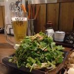 ダンダダン酒場 - パクチーサラダのボリューム496円!