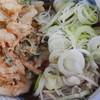 やしま - 料理写真:かき揚蕎麦(ねぎダク)