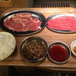 熟成焼肉 肉源 - 焼肉ランチ1000円税込