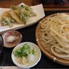 紅葉庵 - 料理写真:春野菜の天ぷらざる 大盛り1070円