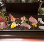 日本酒宿七色 - お造り(予約時に必須)