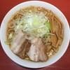 二家風亭麺楽 - 料理写真:味噌らーめん800円(別皿で無料トッピング可)