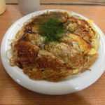みっちゃん総本店 - そば肉玉ダブル850円