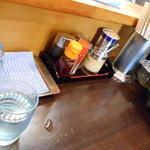 ら~めん 味ノ仙 - 卓上 Ⅱ