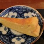 そば処 吉邦 - もりそばと小天丼(ランチ)のデザート