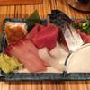 ふぶき - 料理写真:刺身三点盛り390円