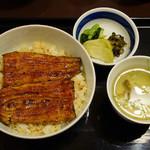竹葉亭 - 鰻丼(A)