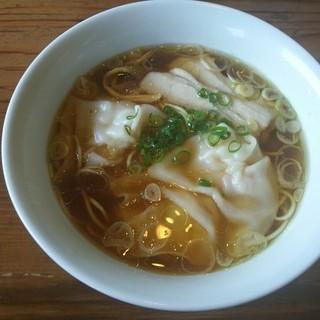 らーめん 三福 - 料理写真:海老ワンタンメン (醤油)
