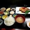 ひさみ - 料理写真:ランチまぐろの顎焼き定食