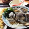 丸亀製麺 - 料理写真:あさりうどん