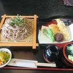泉橋庵 - 料理写真:天ざる蕎麦大盛り