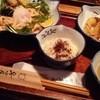 のらや - 料理写真:1604_のらや(箕面)_明太子かまたまうどん(大盛り)+天ぷらセット@1,080円
