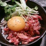 焼肉やっちゃん - 和牛ユッケ