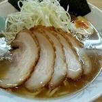 ラーメン 三太 - 醤油ネギチャーシュー麺