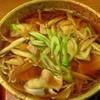 更科本家 - 料理写真:肉ごぼうそば(750円)