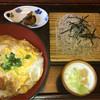 大釜 - 料理写真:かつ丼 そば付き 1123円
