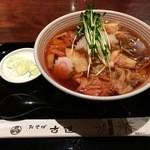 おそば 古道 - キムチおろし蕎麦