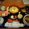 峰本 - 料理写真:至福 親子丼と一口そば