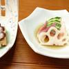 ゆう天 - 料理写真:コース 先付・酢の物 2016.4