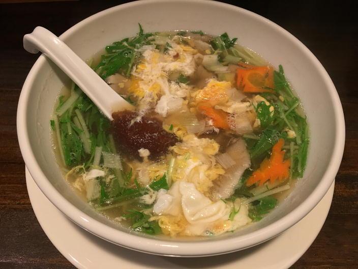 蛋花湯(野菜入り玉子スープ)