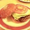 喫茶パーラー ふるさと - 料理写真:自慢のハンバーガー!