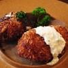 サクラグリル - 料理写真:エビクリームコロッケと和牛ミンチカツ