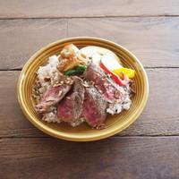 牛肉ステーキ&旬野菜カレー