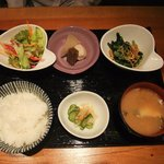 第二 いか天国 - 煮魚定食(煮魚以外)