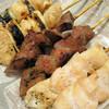 三ツ峰 - 料理写真:ねぎま・レバ・正肉